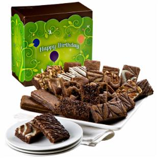 Fairytale Brownies Birthday Sprite 24 Brownie Gift Box