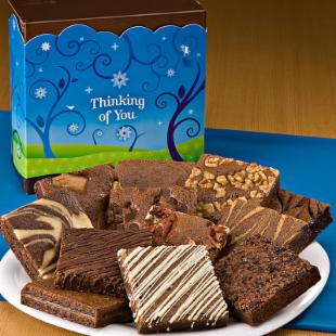 Fairytale Brownies Thinking of You Dozen Gift Box