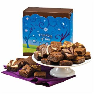 Fairytale Brownies Thinking of You Morsel 24 Brownie Gift Box