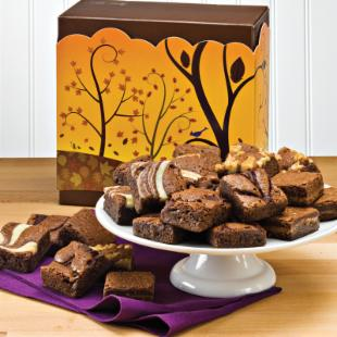 Fairytale Brownies Fall Morsel 24 Brownie Gift Box