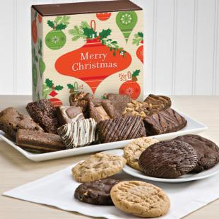 Fairytale Brownies Christmas Cookie &amp; Spite Combo Brownie Gift Box