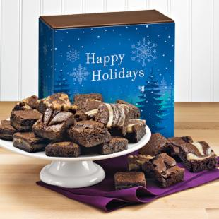 Fairytale Brownies Holiday Morsel 24 Brownie Gift Box