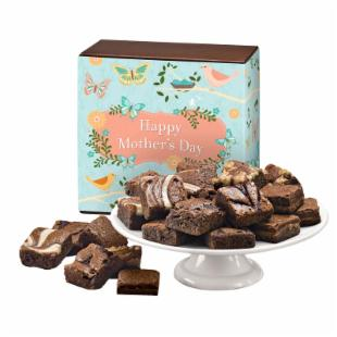 Fairytale Brownies Mother&#39;s Day Morsel 24 Brownie Gift Box