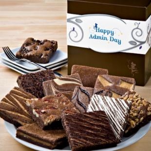 Fairytale Brownies Administrative Day Brownie Dozen Gift Box