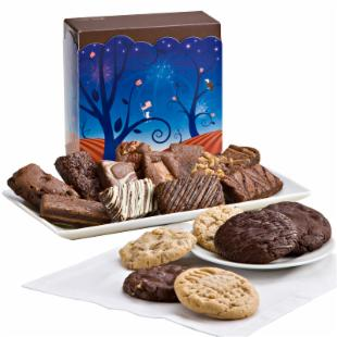 Fairytale Brownies Patriotic Cookie and Sprite Combo Gift Box