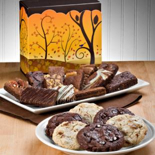 Fairytale Brownies Fall Cookie and Sprite Combo Gift Box