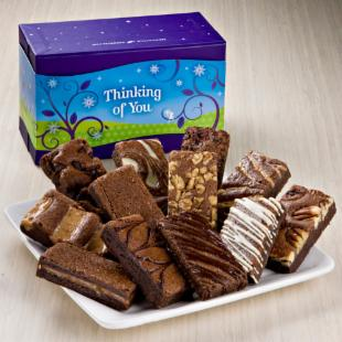 Fairytale Brownies Thinking of You Sprite Dozen Gift Box