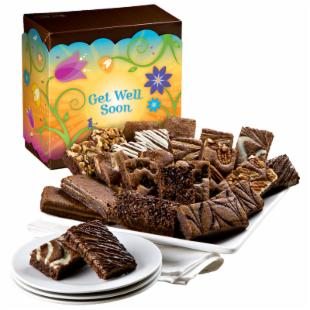 Fairytale Brownies Get Well Soon Sprite 24 Brownie Gift Box