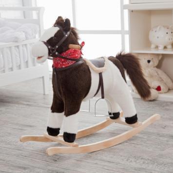  Charm Pinto Rocking Horse with Movement and Sounds!