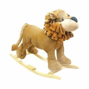 Charm Linus the Rocking Lion with Sound