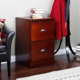  Valona Custom Two Drawer Filing Cabinet - Dark Cherry