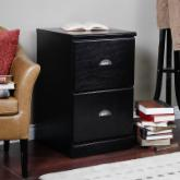  Valona Custom Two Drawer Filing Cabinet - Black