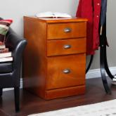  Valona Custom Three Drawer Filing Cabinet - Oak