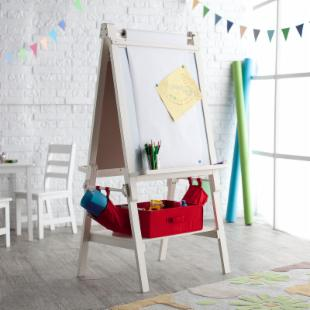 Classic Playtime Deluxe Easel - Vanilla