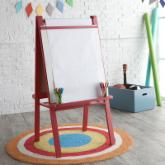  Classic Playtime Junior Easel - Licorice Red