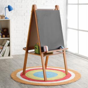 Classic Playtime Junior Easel - Pecan