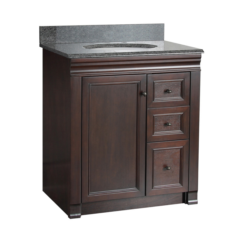 Foremost Shawna 30 In Single Bathroom Vanity With Right