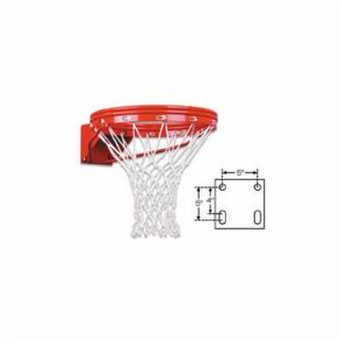 First Team Unbreakable Lifetime Warranty Fixed Basketball Goal
