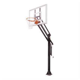 First Team Attack II Residential Adjustable Inground Basketball System