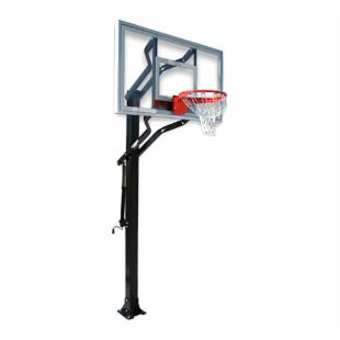First Team Powerhouse Challenger Adjustable Inground Basketball System