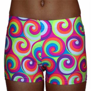 Funkadelic Go-Go Swirl 2.5 in. Volleyball Shorts