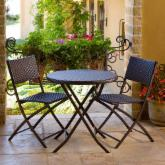  RST Outdoor All-Weather Woven Wicker Bistro Set