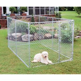 PetSafe Boxed Chain Link Dog Kennel