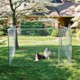 Do-It-Yourself Dog Kennel/Dog Run
