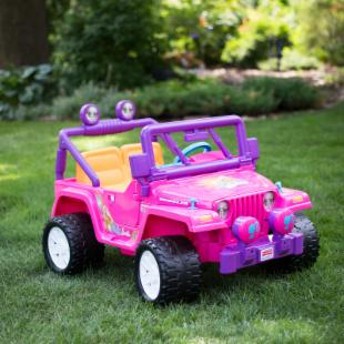 Fisher Price® Barbie Jammin' Jeep Wrangler Battery Powered Riding Toy