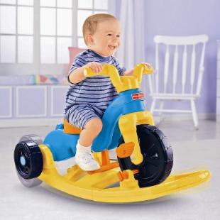 Fisher-Price Rock&#44; Roll &#39;n Ride Trike