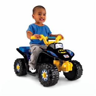 Fisher-Price® Batman Lil Quad Battery Powered Riding Toy