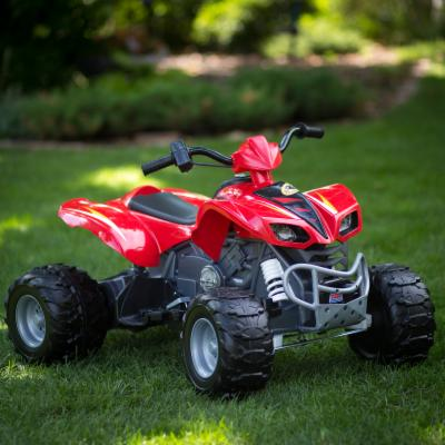  Fisher Price Battery Powered Kawasaki KFX ATV with Monster Traction