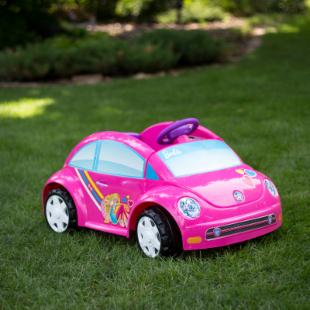 Fisher-Price Barbie Battery Powered VW Beetle W6209