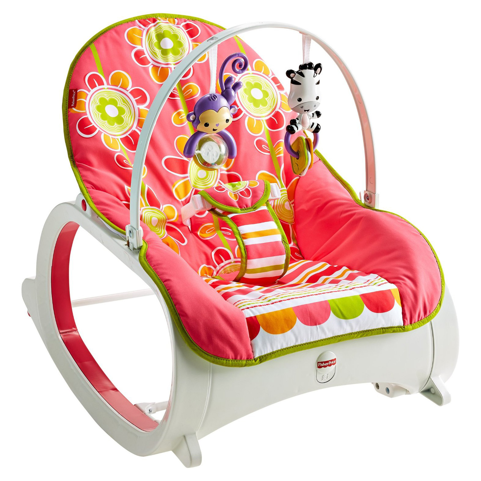 Fisher-Price Infant-to-Toddler Rocker - Floral Confetti - Baby ...