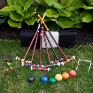 Franklin Advanced Deluxe Croquet Set
