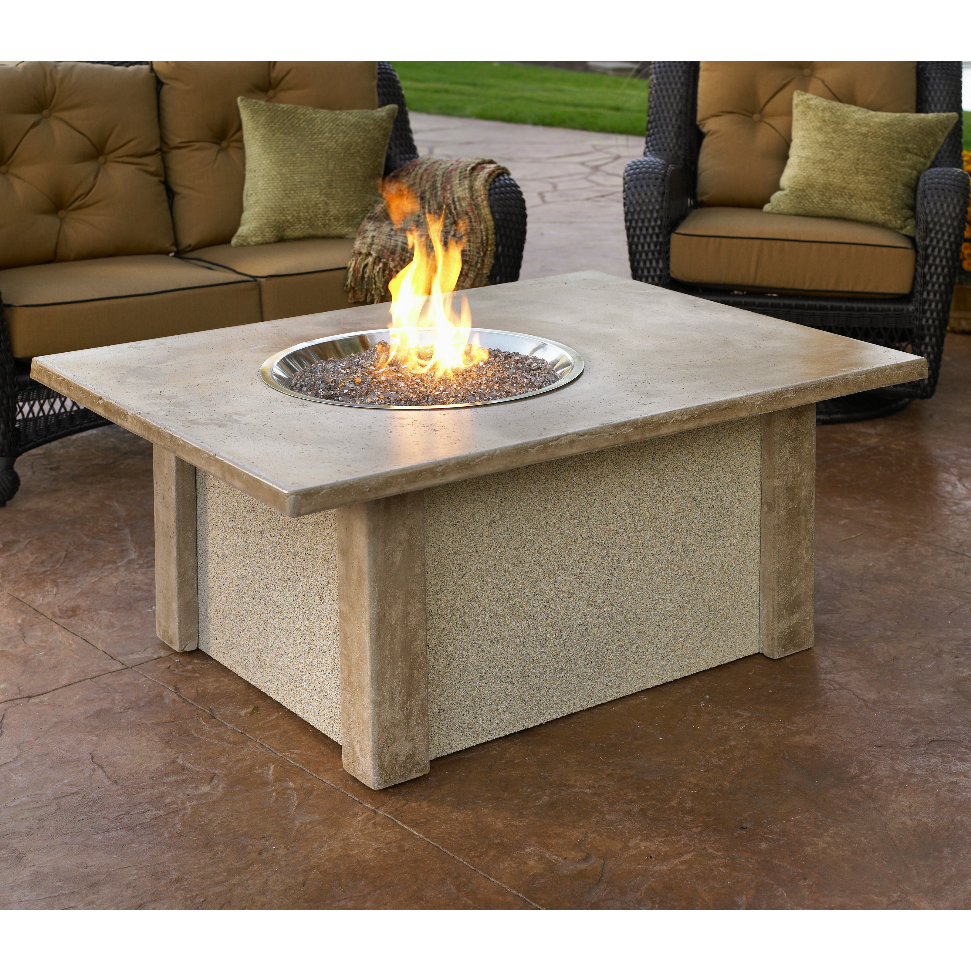 Outdoor Greatroom San Juan Gas Fire Pit Table At Hayneedle