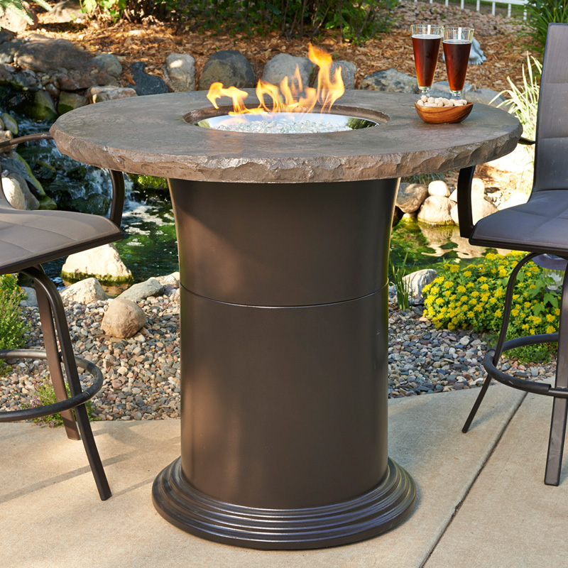 Outdoor Greatroom 48 In Colonial Bar Height Fire Pit