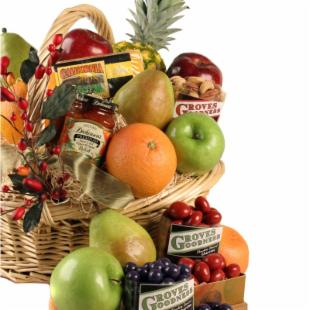 Grand Goodness Fruit Gift Basket