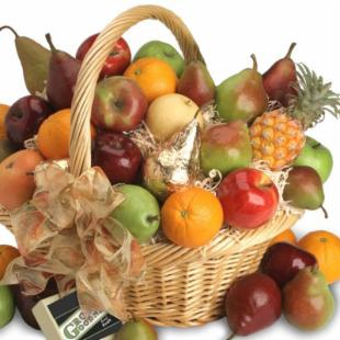 Abundant Fruit Gift Basket