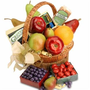 Jubilee Fruit Gift Basket