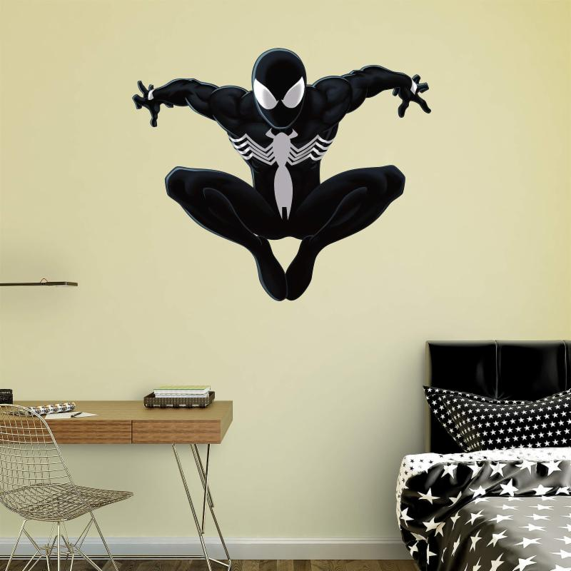 Fathead Black Suit Ultimate Spider-Man Wall Decal FTH319-1