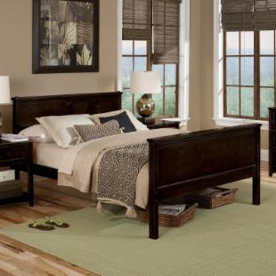 Schoolhouse Casey Bed - Chocolate