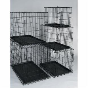 General Cage Valu Line Crate with Plastic Pan