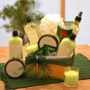 Serenity Spa Gift Box at Gift Baskets :  serenity spa gift box gift baskets specialty gifts