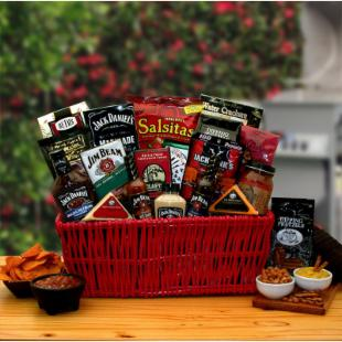 Jim &amp; Jack Grillin BBQ Gift Basket