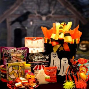 Halloween Boo Activity Gift Basket