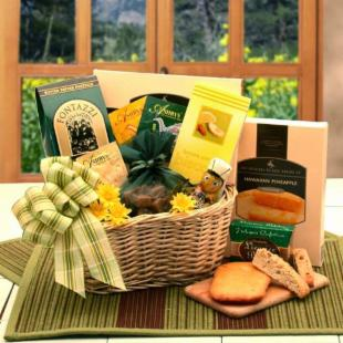 Spring Treats &amp; Tea Gift Basket