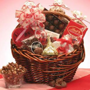 Chocolate Lovers Kiss Gift Basket