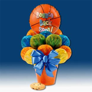 Bounce Back Soon Cookie Bouquet