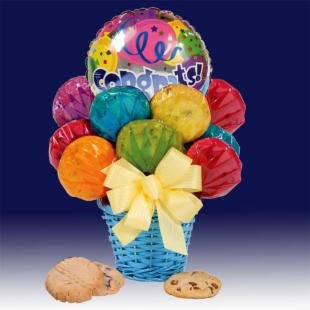 Congratulations Cookie Bouquet